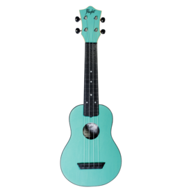 Flight Travel light blue soprano ukulele