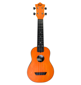 Flight Travel orange soprano ukulele