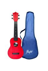 Flight TUS35 Travel red soprano ukulele