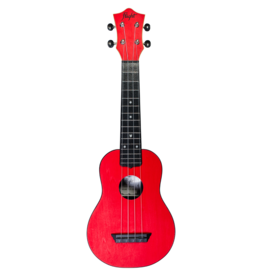 Flight Travel red soprano ukulele