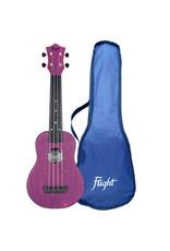 Flight TUS35 Travel purple soprano ukulele