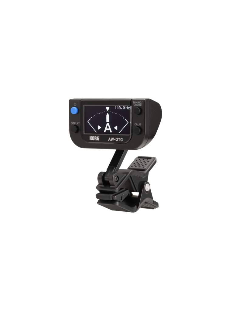 Korg AW-OTG clip-on tuner with chord finder