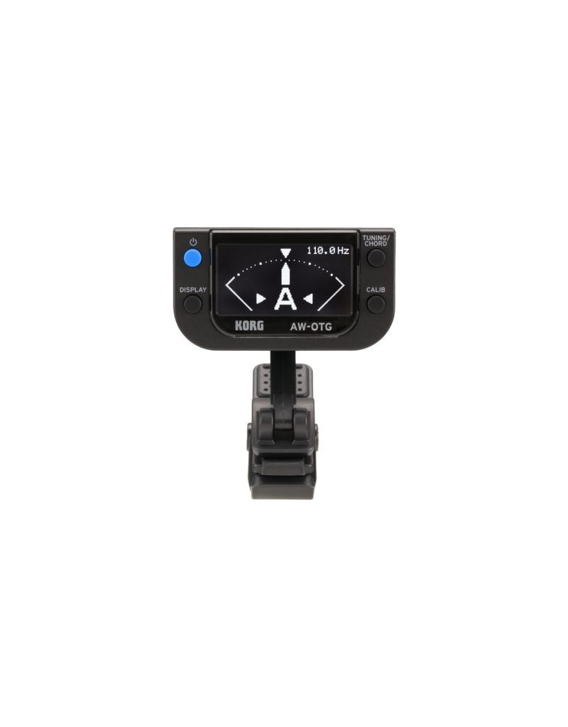 Korg AW-OTG clip-on stemapparaat met akkoordenvinder