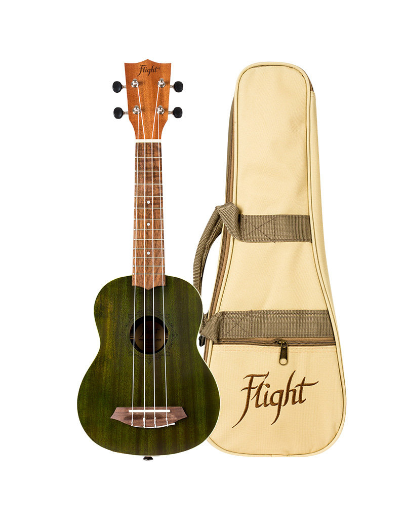 Flight NUS380 Gemstone Jade soprano ukulele