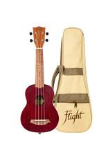 Flight NUS380 Gemstone Coral soprano ukulele