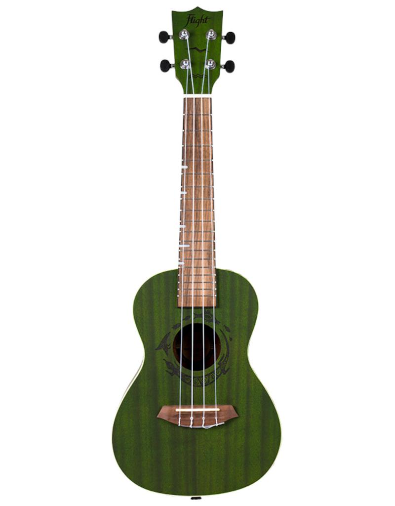 Flight DUC380 Gemstone Jade concert ukulele
