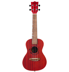 Flight Gemstone Coral concert ukulele