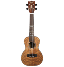 Flight Supernatural Quilted Ash concert ukulele