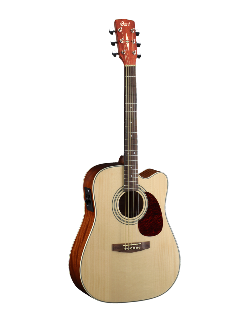 Cort MR500E acoustic/electric guitar open pore