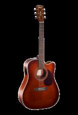 Cort MR500E acoustic/electric guitar brown burst