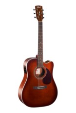 Cort MR500E akoestisch/elektrisch gitaar brown burst