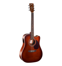 Cort MR500E acoustic/electric guitar natural brown burst