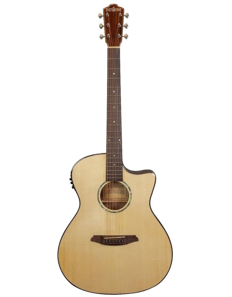Rathbone R3SBCE No.3 akoestisch/elektrisch gitaar Bocote