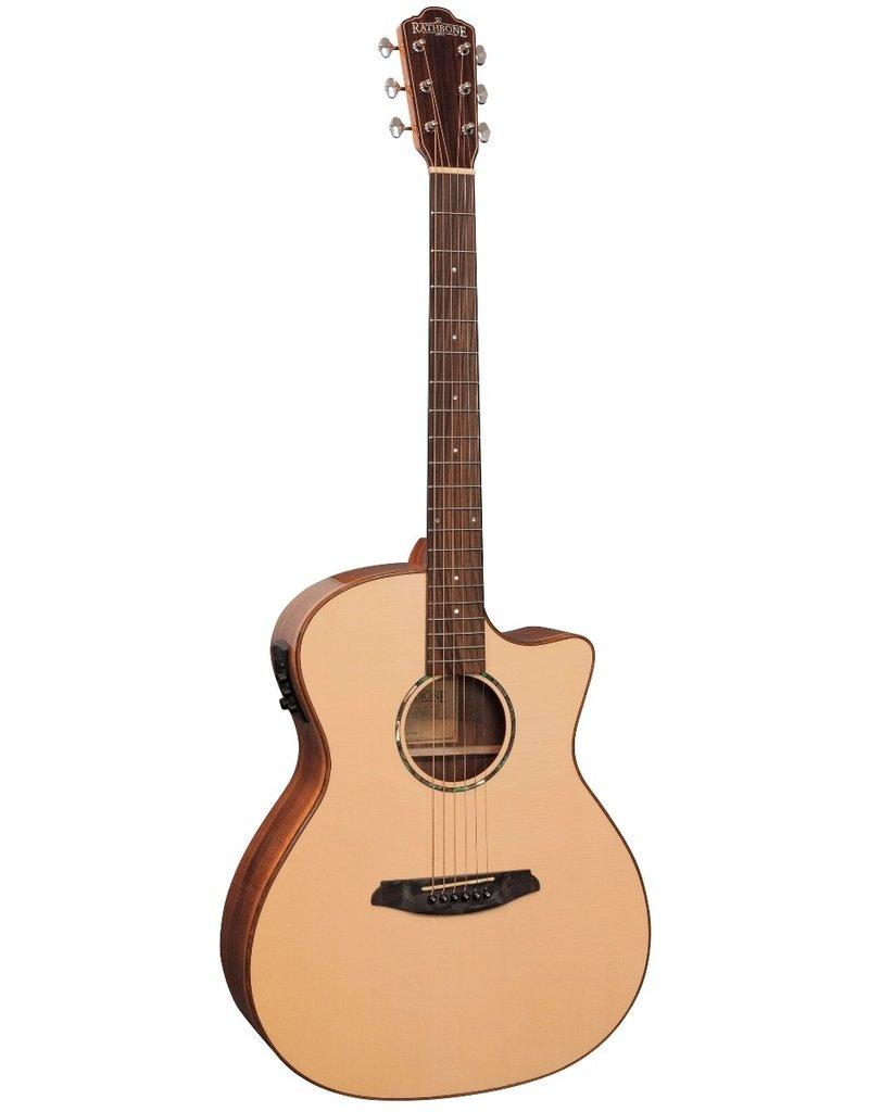 Rathbone R3SKCE No.3 akoestisch/elektrisch gitaar Koa