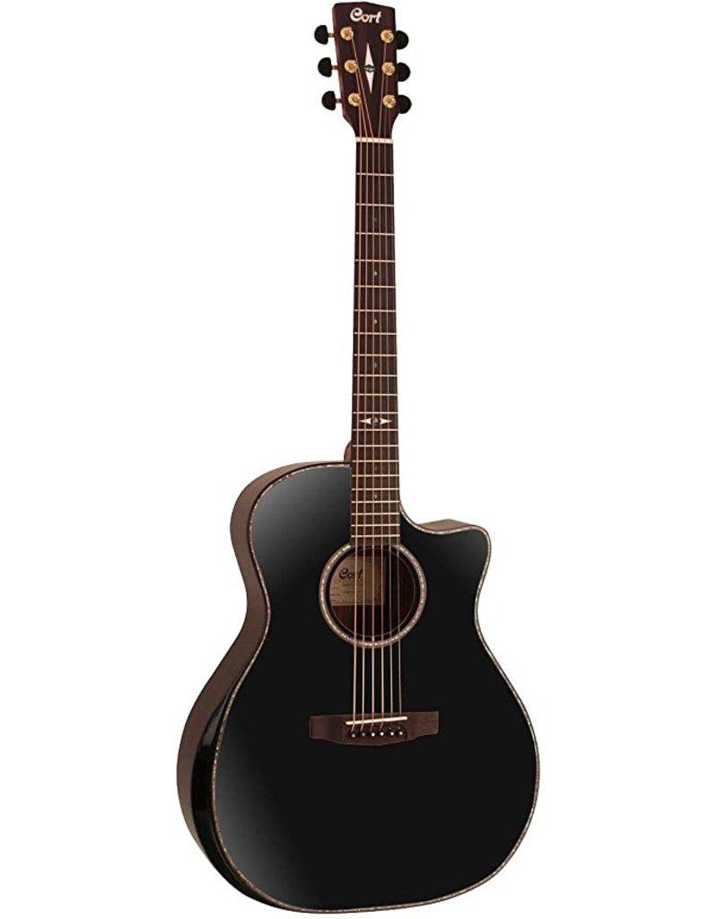 Cort GA-PF BK Bevel akoestisch/elektrisch gitaar
