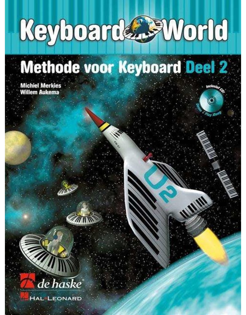 Hal Leonard Keyboard World Methode voor Keyboard deel 2