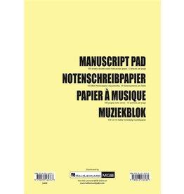 Hal Leonard Manuscript pad