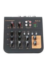 Audiophony Mi3 3-channel mixer