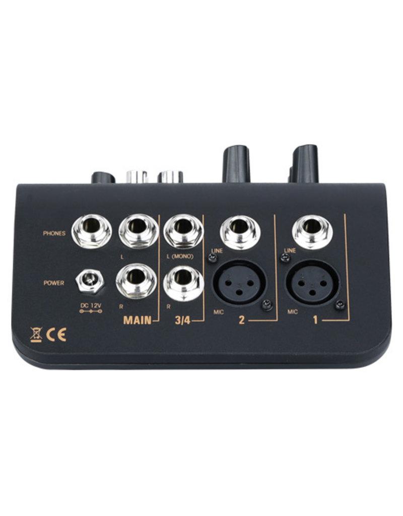 Audiophony Mi3 3-kanaals mixer