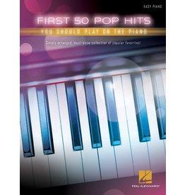 Hal Leonard First 50 Pop Hits Piano