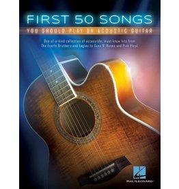 Hal Leonard First 50 Songs akoestisch gitaar