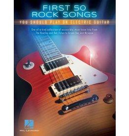 Hal Leonard First 50 Rock songs electrisch gitaar