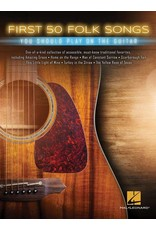 Hal Leonard First 50 Folk songs you should play on the guitar