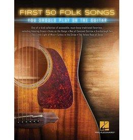Hal Leonard First 50 Folk songs gitaar