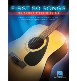 Hal Leonard First 50 Songs gitaar