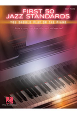 Hal Leonard First 50 Jazz standards you should play on the Piano
