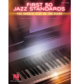 Hal Leonard First 50 Jazz standards Piano