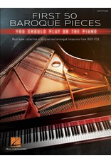 Hal Leonard First 50 Baroque pieces you should play on the  Piano
