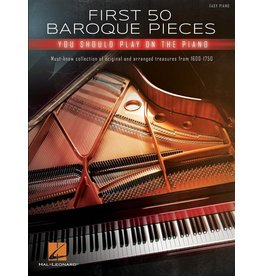 Hal Leonard First 50 Baroque pieces Piano