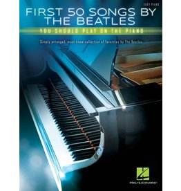 Hal Leonard First 50 Songs by The Beatles Piano
