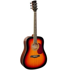 Brunswick BD200 SB akoestische gitaar