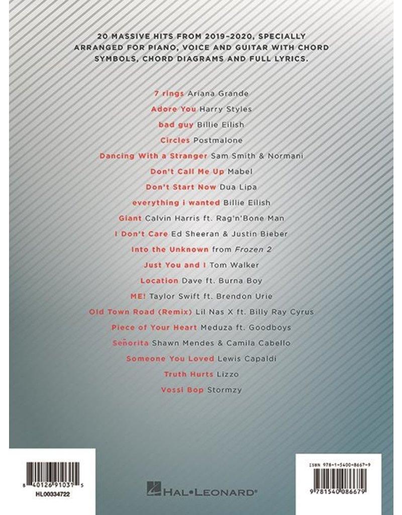 Hal Leonard Chart Hits of 2019-2020 Piano-Vocal-Guitar