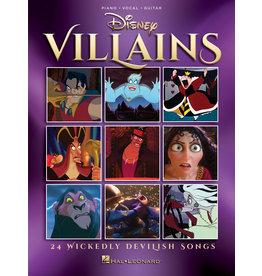 Hal Leonard Disney Villains
