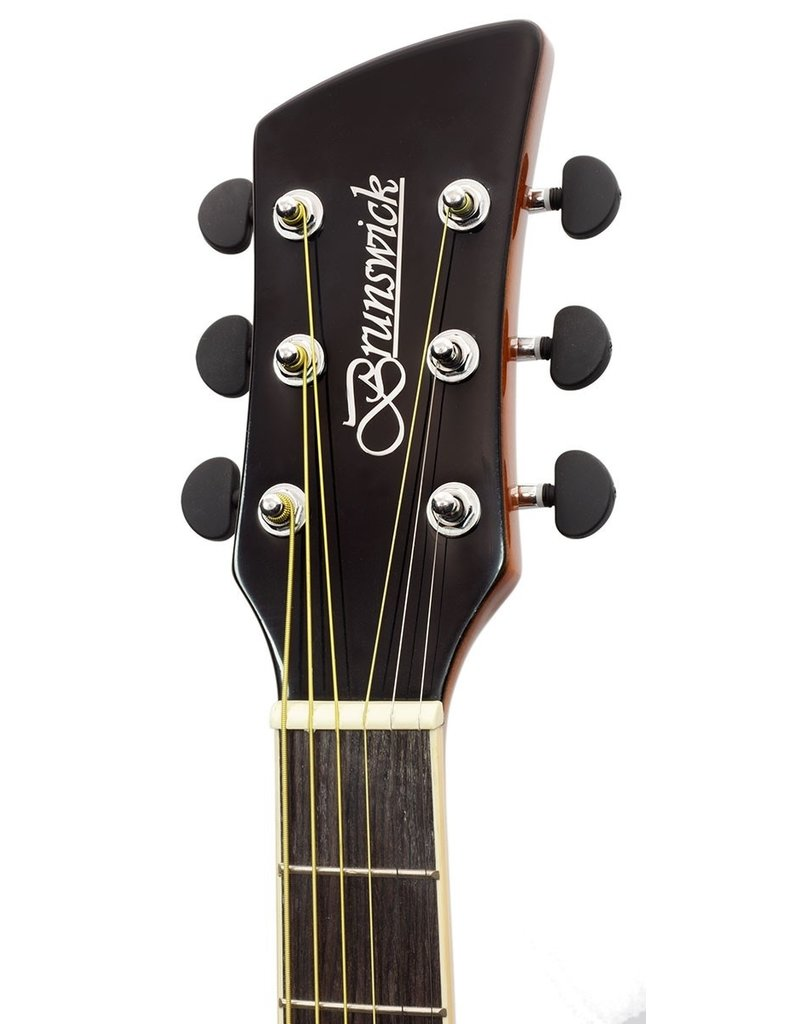 Brunswick BF200 BK Acoustic guitar black