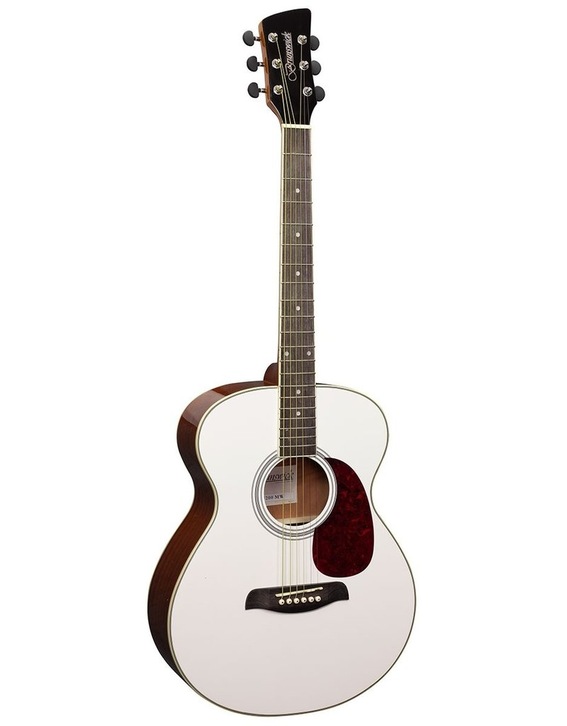 Brunswick BF200 MW Acoustic guitar white