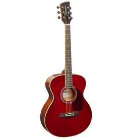 Brunswick BF200 R Akoestische gitaar rood