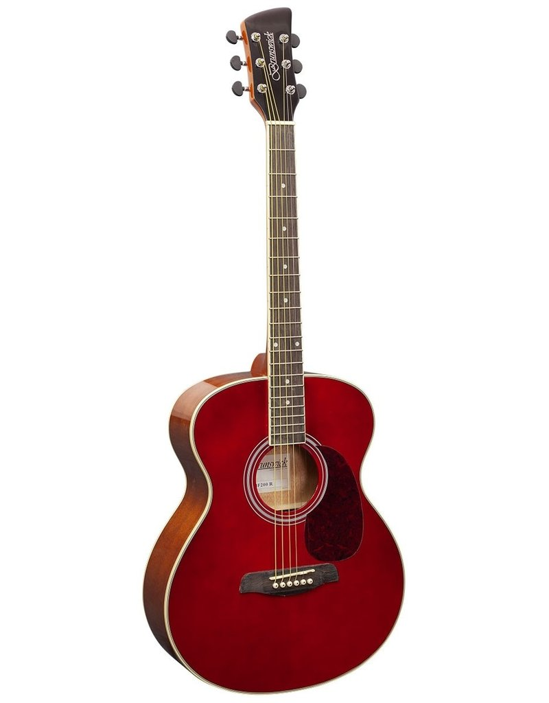 Brunswick BF200 R Acoustic guitar red