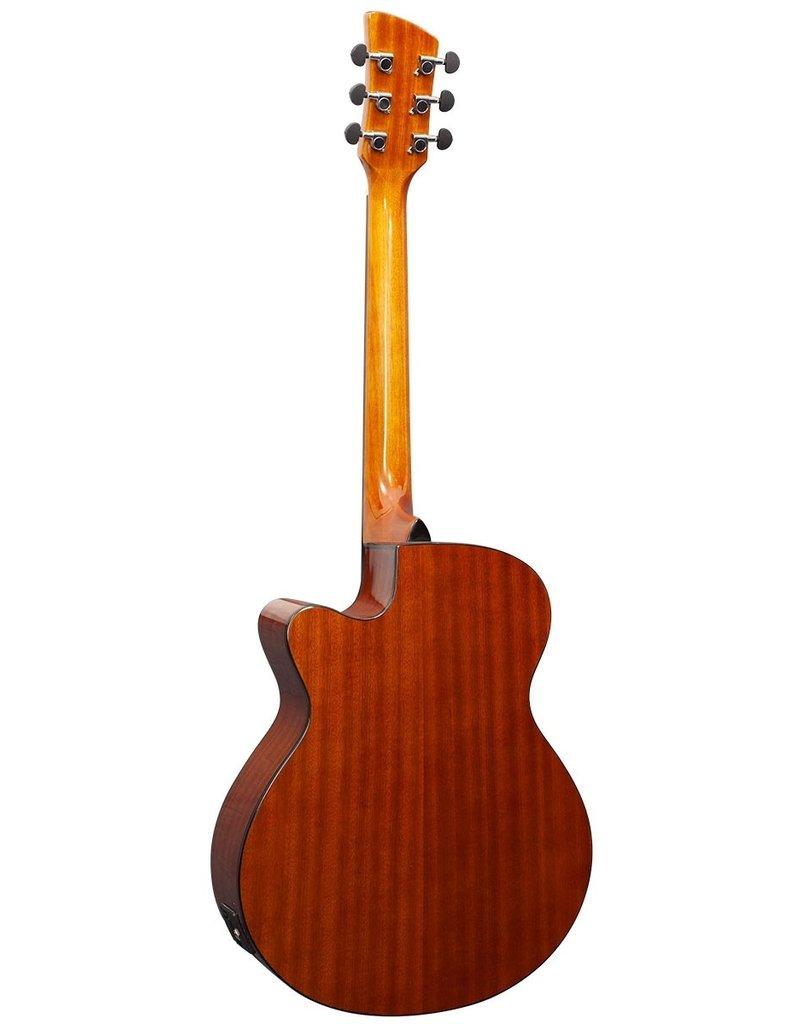 Brunswick BTK50 BK Acoustic/electric guitar black