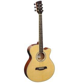 Brunswick BTK50 NA Akoestisch/elektrisch gitaar naturel