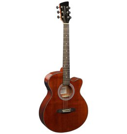 Brunswick BTK50 M Akoestisch/elektrisch gitaar mahonie