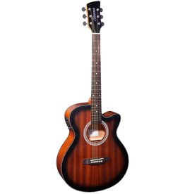 Brunswick BTK50 TB Acoustic/electric guitar tobacco burst