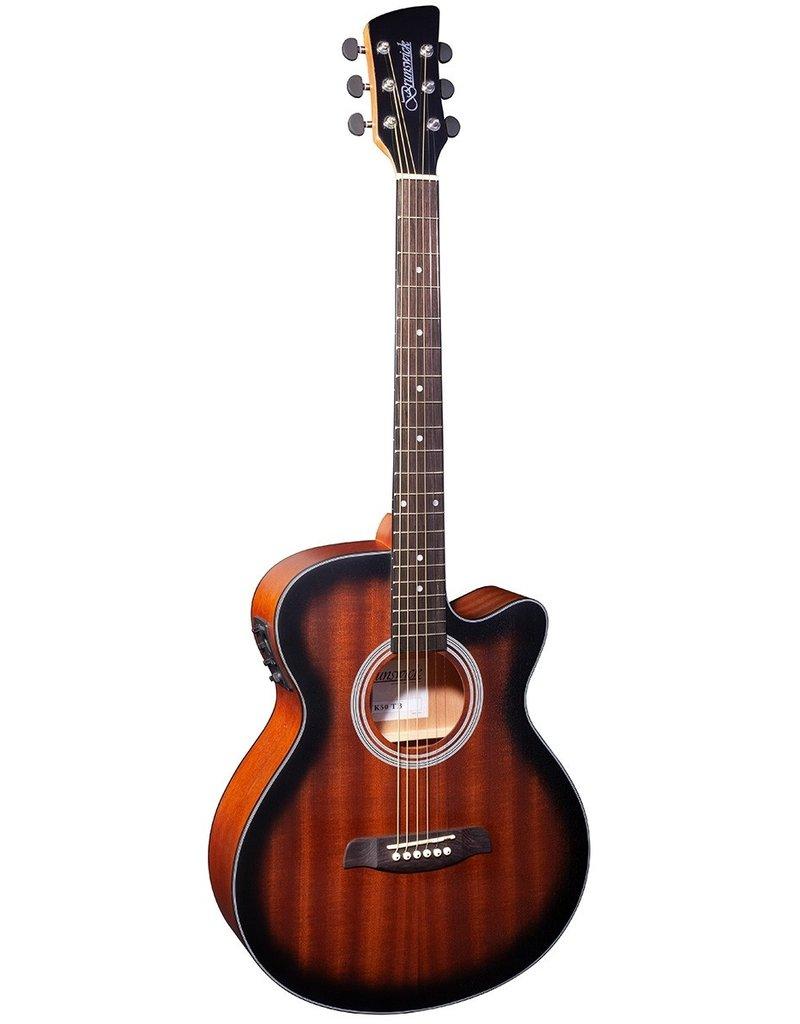 Brunswick BTK50 TB Acoustic/electric guitar tobacco burst