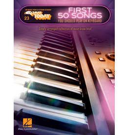 Hal Leonard First 50 Songs keyboard