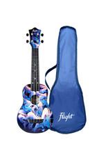 Flight TUS40 Travel graffiti soprano ukulele