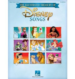 Hal Leonard The illustrated treasury of Disney Songs