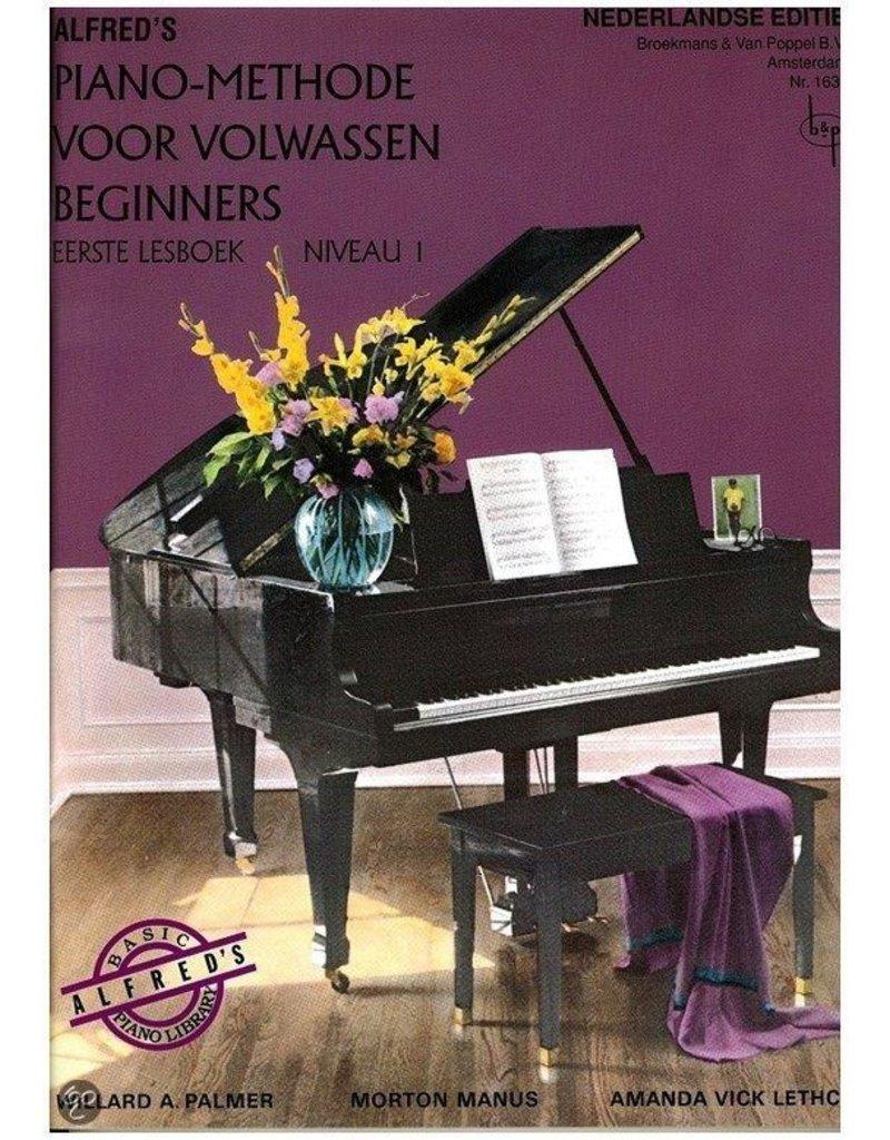 Alfred Alfred's Piano-methode voor Volwassenen Beginners
